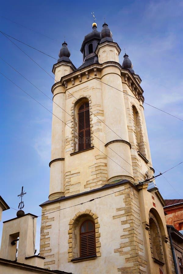 αρμενική εκκλησία lviv στοκ εικόνες με δικαίωμα ελεύθερης χρήσης