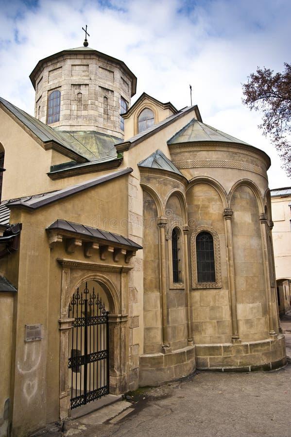 αρμενική εκκλησία lviv στοκ φωτογραφία με δικαίωμα ελεύθερης χρήσης