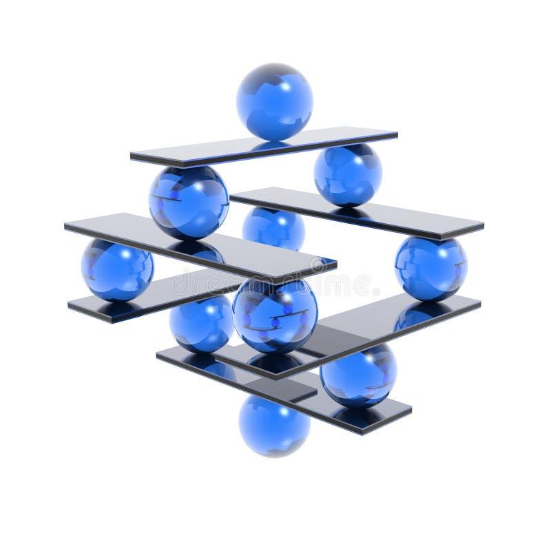 αρμονία ισορροπίας απεικόνιση αποθεμάτων
