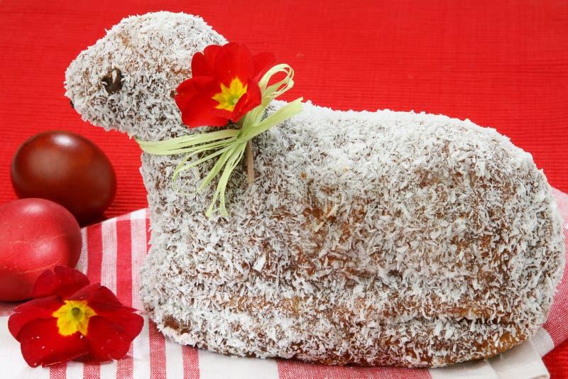 αρνί καρύδων κέικ στοκ εικόνες με δικαίωμα ελεύθερης χρήσης