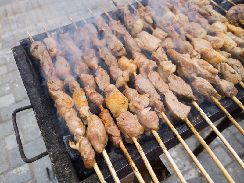 Αρνί shashlik στοκ εικόνα με δικαίωμα ελεύθερης χρήσης