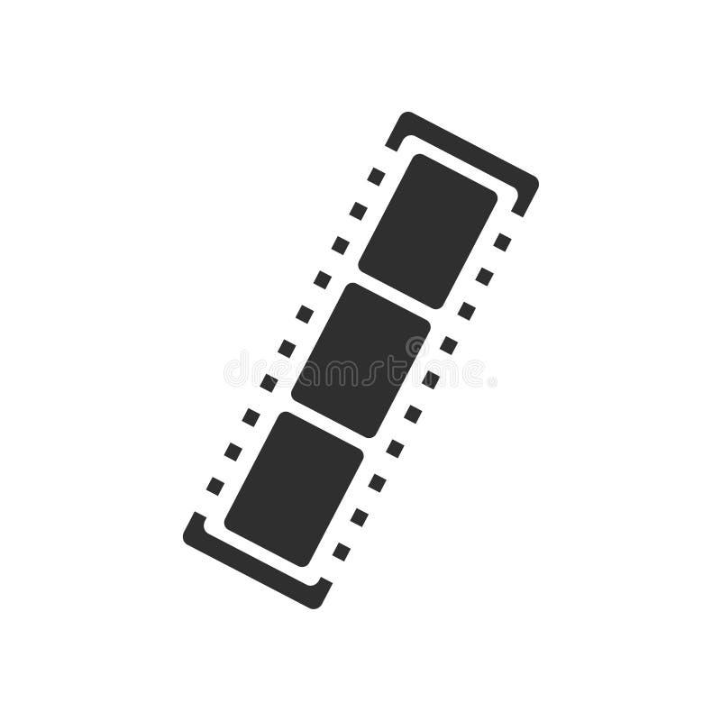Αρνητικά σημάδι και σύμβολο εικονιδίων ταινιών διανυσματικά που απομονώνονται στο άσπρο υπόβαθρο, αρνητική έννοια λογότυπων ταινι ελεύθερη απεικόνιση δικαιώματος