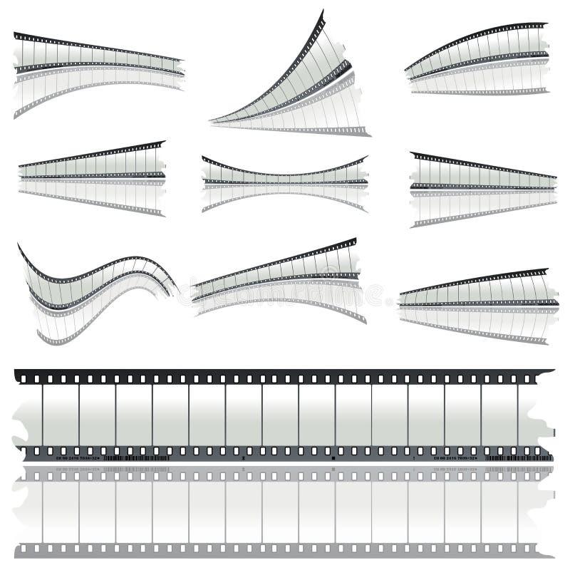 αρνητικές λουρίδες ταιν&i ελεύθερη απεικόνιση δικαιώματος