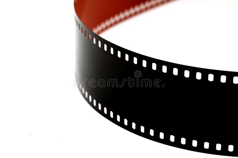 Αρνητική λουρίδα ταινιών χρώματος 35 χιλ. στοκ φωτογραφίες με δικαίωμα ελεύθερης χρήσης