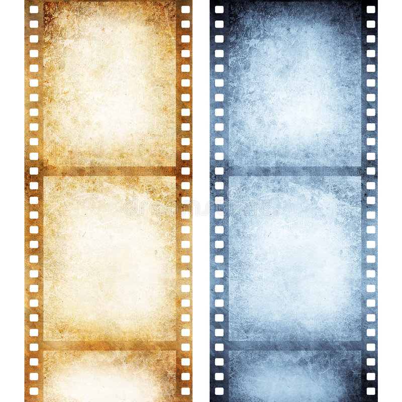 αρνητικός παλαιός ταινιών ελεύθερη απεικόνιση δικαιώματος
