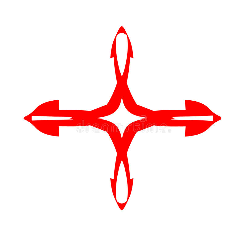Αρνητικό λογότυπο ενισχύσεων στοκ φωτογραφία με δικαίωμα ελεύθερης χρήσης