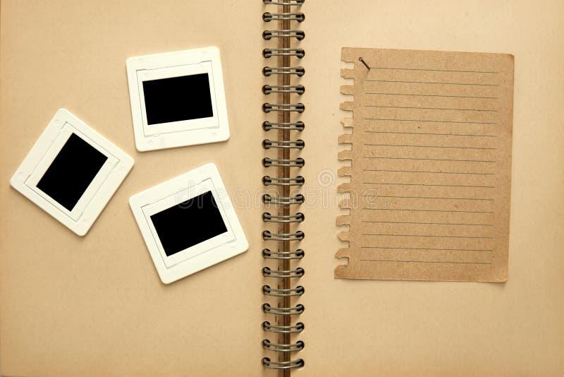 αρνητικό σημειωματάριο τα& στοκ φωτογραφία με δικαίωμα ελεύθερης χρήσης