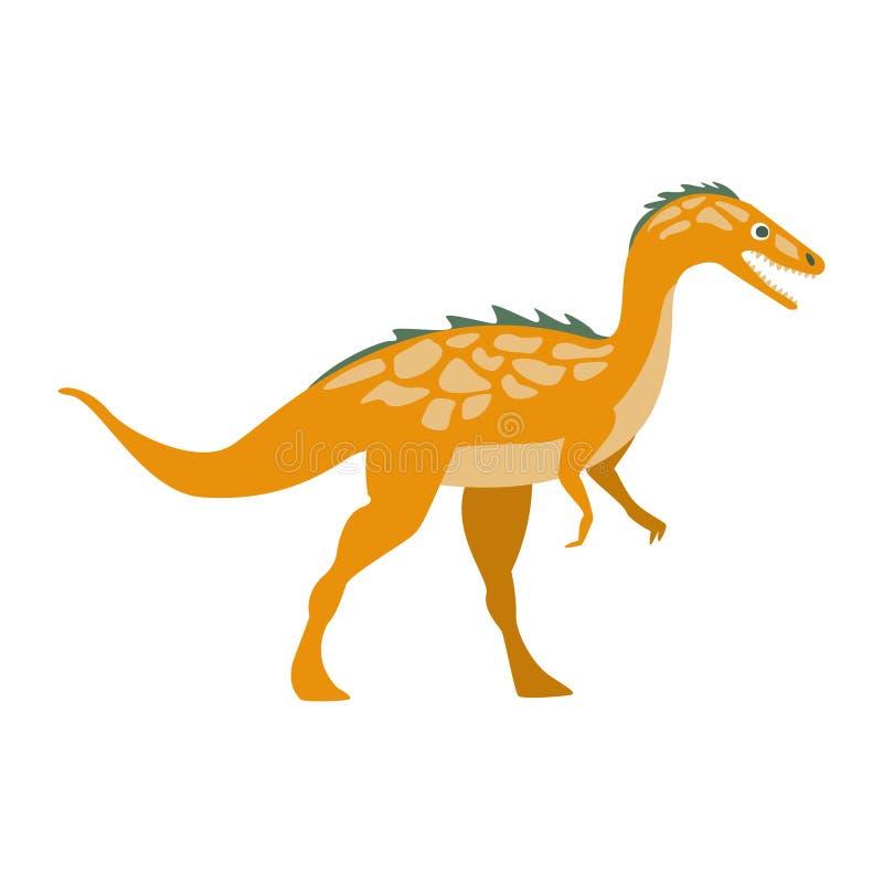 Αρπακτικός δεινόσαυρος αρπακτικών πτηνών της ιουρασικής περιόδου, προϊστορικό εκλείψας γιγαντιαίο έρπον ρεαλιστικό ζώο κινούμενων απεικόνιση αποθεμάτων