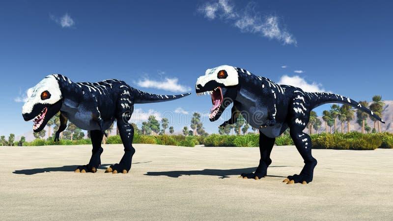 Αρπακτικός δεινόσαυρος στοκ φωτογραφίες