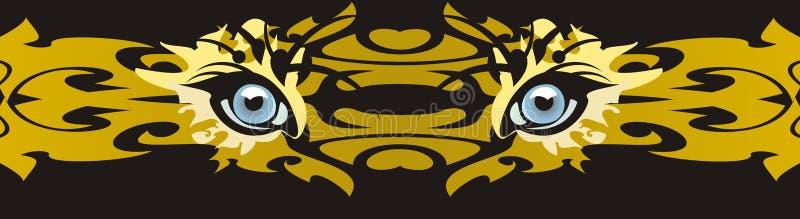 αρπακτικό ζώο ματιών Στοκ Φωτογραφίες