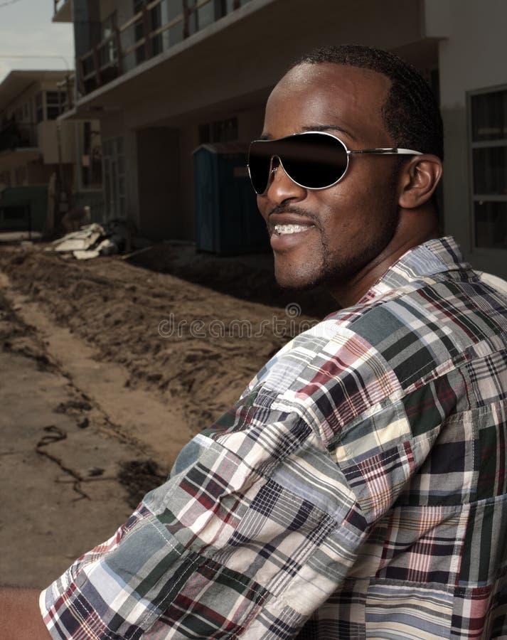 αρσενικά γυαλιά ηλίου χ&alpha στοκ εικόνες με δικαίωμα ελεύθερης χρήσης