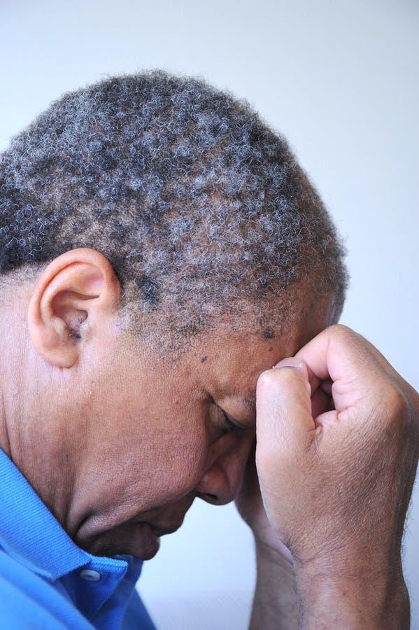 Αρσενικές εκφράσεις αφροαμερικάνων στοκ εικόνες