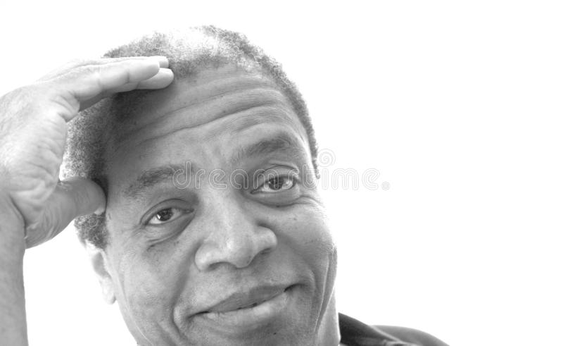 Αρσενικές εκφράσεις αφροαμερικάνων στοκ εικόνα με δικαίωμα ελεύθερης χρήσης