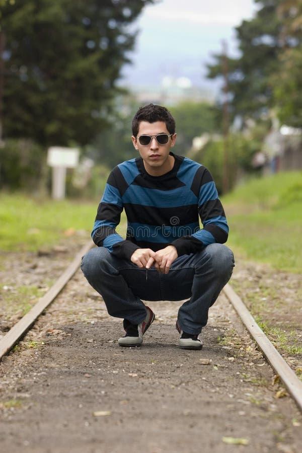 αρσενικές πρότυπες νεολαίες στοκ φωτογραφία με δικαίωμα ελεύθερης χρήσης