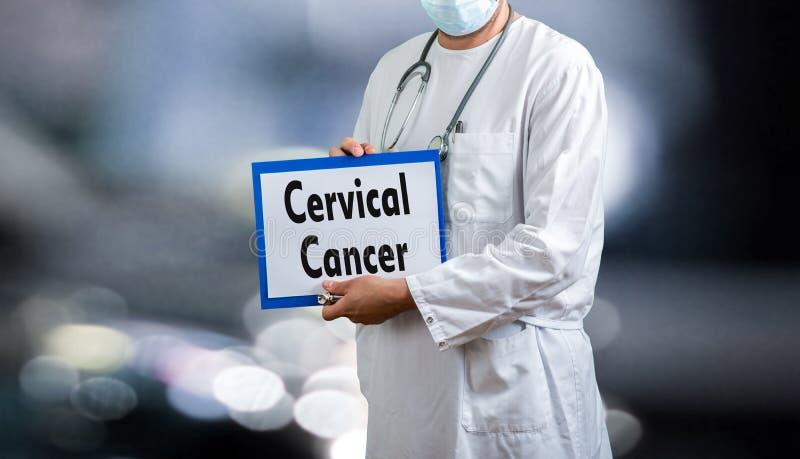 Αρσενικός αυχενικός καρκίνος γιατρών στοκ φωτογραφίες με δικαίωμα ελεύθερης χρήσης