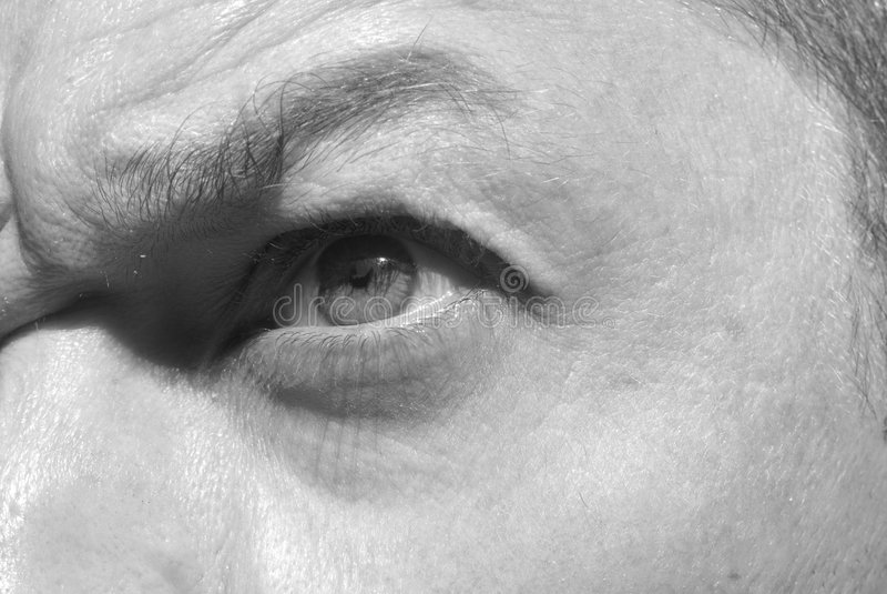 αρσενικό ματιών στοκ εικόνες με δικαίωμα ελεύθερης χρήσης