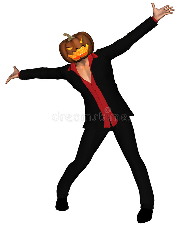 αρσενικό 4 pumpkinhead ελεύθερη απεικόνιση δικαιώματος