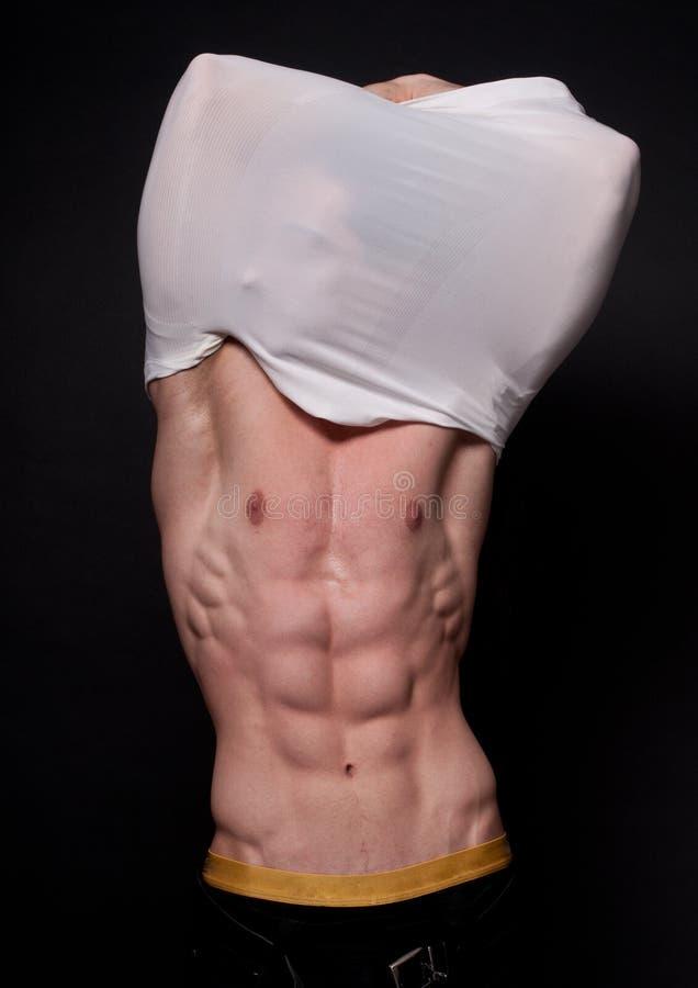αρσενικό muscled στοκ φωτογραφίες