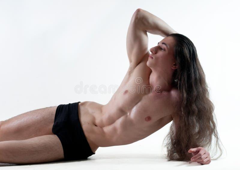 αρσενικό muscled στοκ φωτογραφίες με δικαίωμα ελεύθερης χρήσης