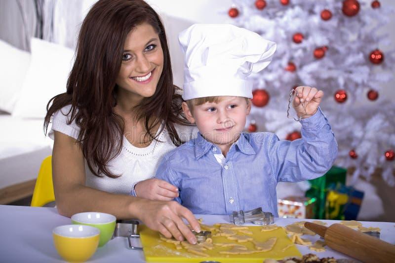 Αρτοποιείο Χριστουγέννων στοκ εικόνες