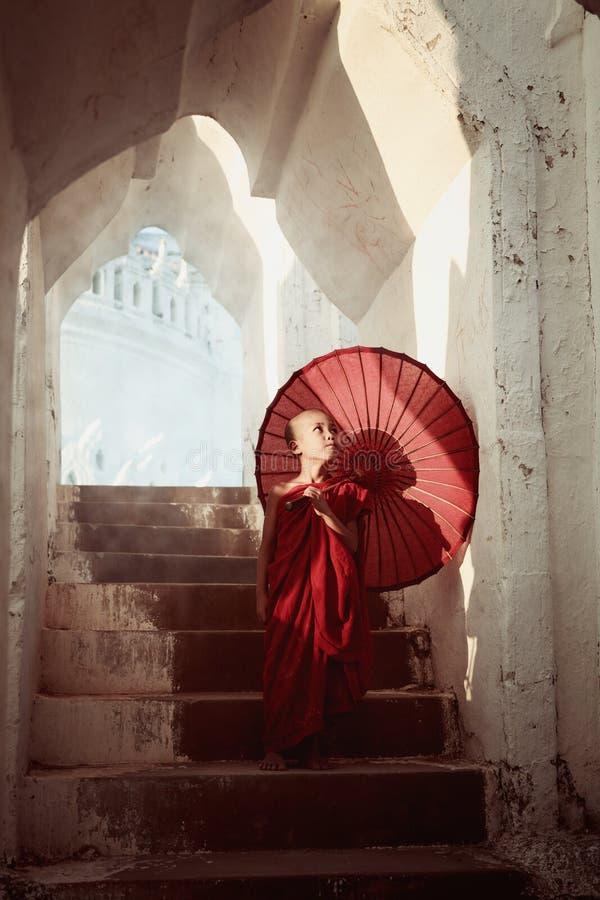 Αρχάριος στη Myanmar στοκ εικόνες