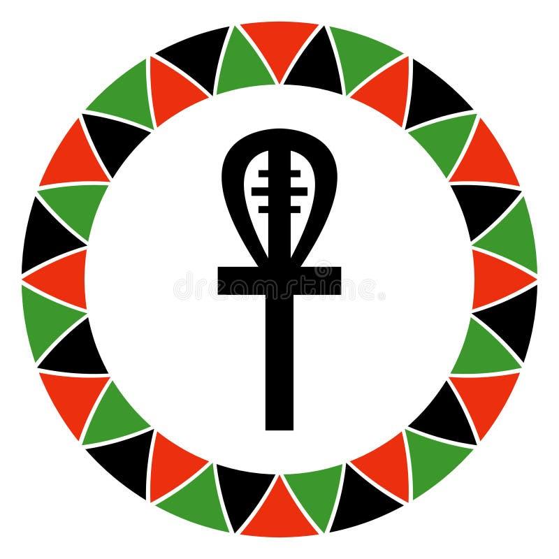 Αρχή Kwanzaa της πίστης ελεύθερη απεικόνιση δικαιώματος