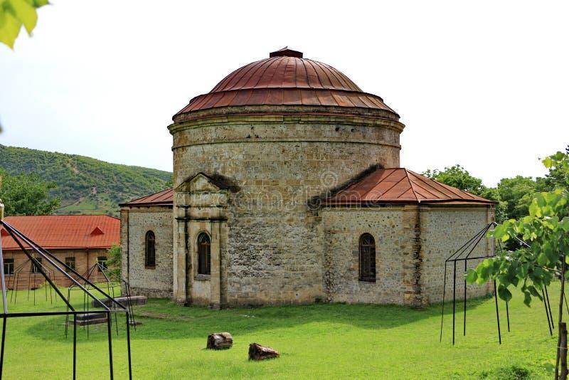 Αρχαία αλβανική εκκλησία σε Sheki στοκ εικόνες