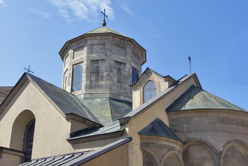 Αρχαία αρμενική εκκλησία σε Lviv στοκ φωτογραφία με δικαίωμα ελεύθερης χρήσης