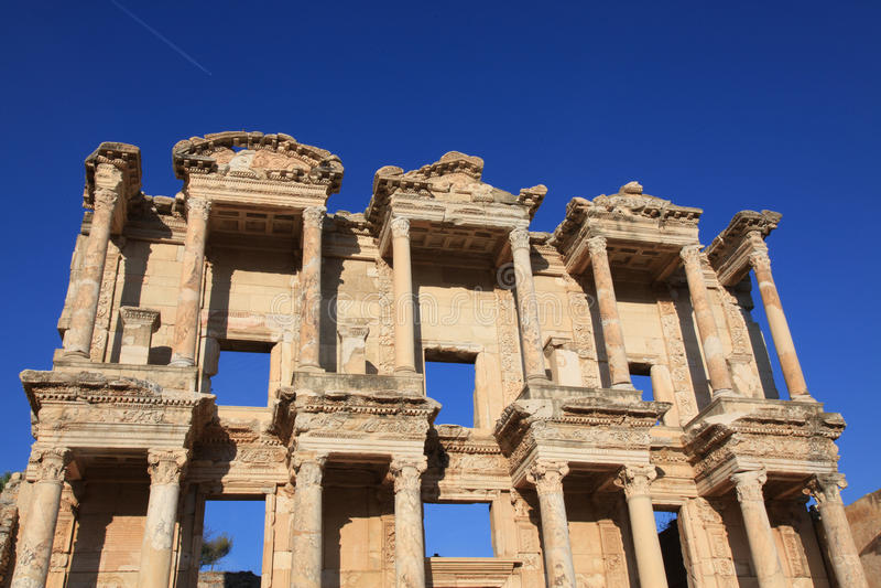 αρχαία βιβλιοθήκη ephesus στοκ εικόνα με δικαίωμα ελεύθερης χρήσης