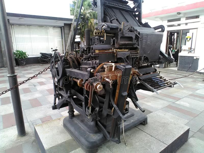 αρχαία γραφομηχανή στοκ φωτογραφία