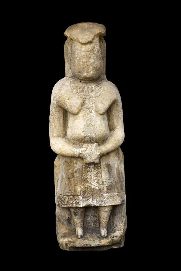αρχαία γυναίκα πετρών γλυ& στοκ εικόνες με δικαίωμα ελεύθερης χρήσης