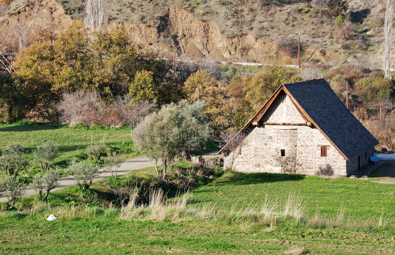αρχαία εκκλησία στοκ φωτογραφία