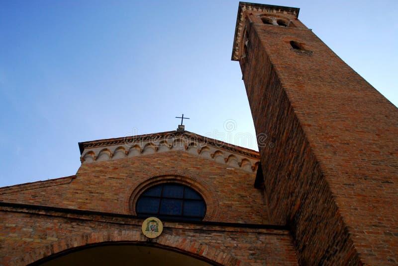 Αρχαία εκκλησία του Άγιου Βασίλη στην Πάδοβα στο Βένετο (Ιταλία) στοκ φωτογραφία