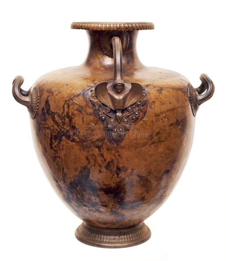 αρχαία ελληνική κανάτα ορ&e στοκ φωτογραφία