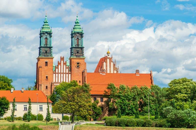 Αρχαία ιστορική αρχιτεκτονική στην πόλη του Πόζναν, Πολωνία στοκ φωτογραφίες