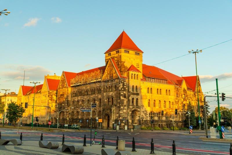 Αρχαία ιστορική αρχιτεκτονική στην πόλη του Πόζναν, Πολωνία στοκ φωτογραφία με δικαίωμα ελεύθερης χρήσης
