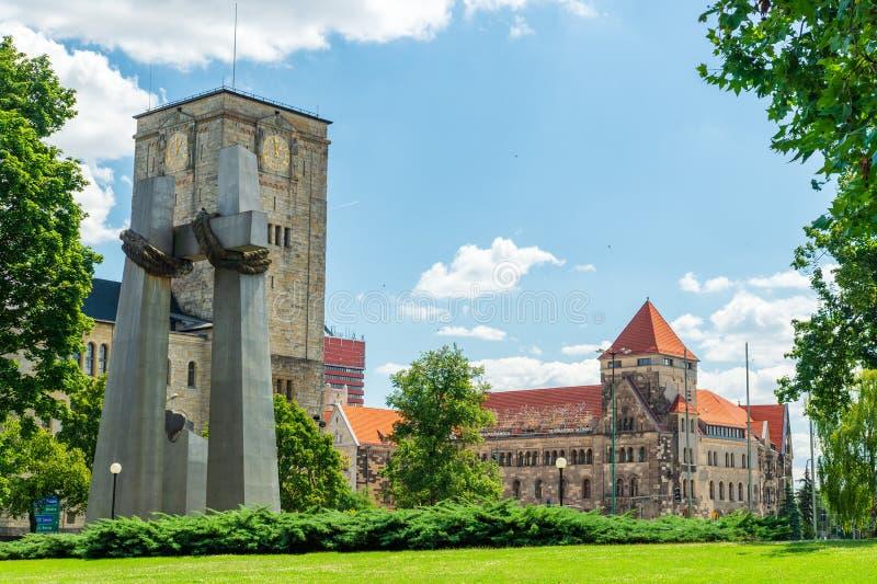 Αρχαία ιστορική αρχιτεκτονική στην πόλη του Πόζναν, Πολωνία στοκ φωτογραφίες με δικαίωμα ελεύθερης χρήσης