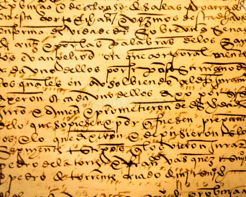 αρχαία καλλιγραφία στοκ φωτογραφία με δικαίωμα ελεύθερης χρήσης