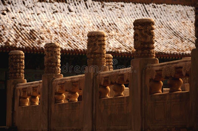 Αρχαία κινεζική αρχιτεκτονική/οικοδόμηση Ο αυτοκρατορικός προγονικός ναός, η απαγορευμένη πόλη Taimiao, Gugong στοκ φωτογραφίες με δικαίωμα ελεύθερης χρήσης