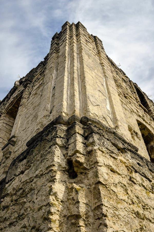 Αρχαία μισό-συναγωγή Rashkov, Μολδαβία στοκ φωτογραφία με δικαίωμα ελεύθερης χρήσης