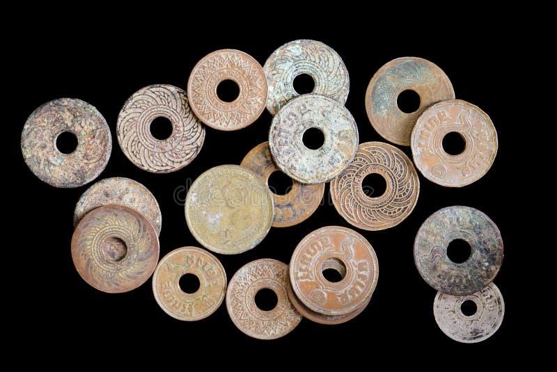 αρχαία νομίσματα στοκ φωτογραφία με δικαίωμα ελεύθερης χρήσης