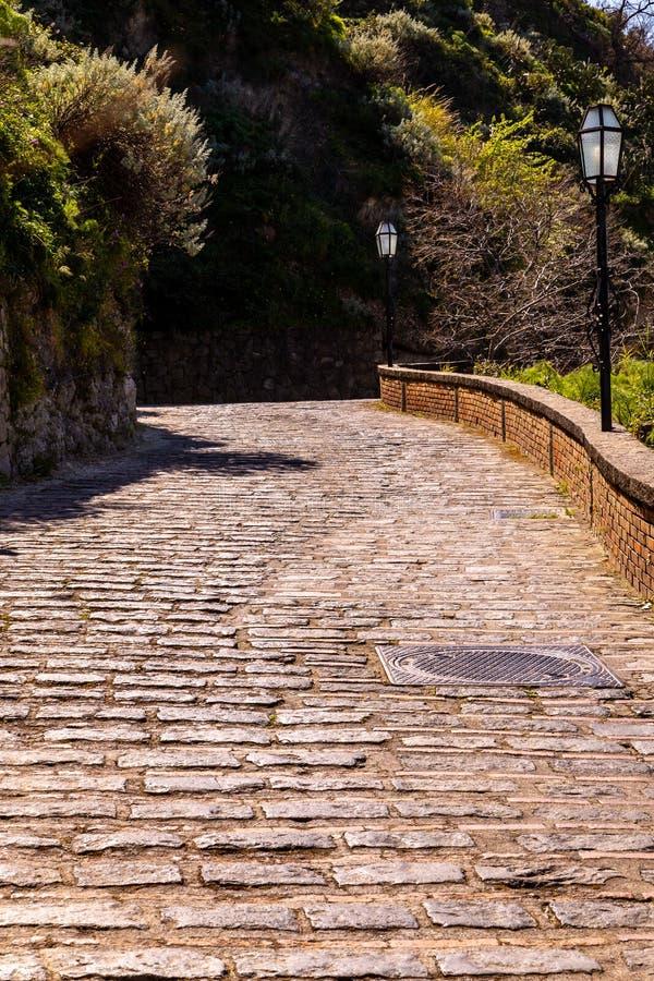 αρχαία οδική πέτρα στοκ φωτογραφίες