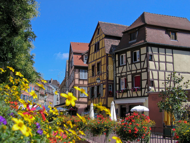 Download αρχαία οδός της Γαλλίας στοκ εικόνα. εικόνα από επίσκεψη - 22777847