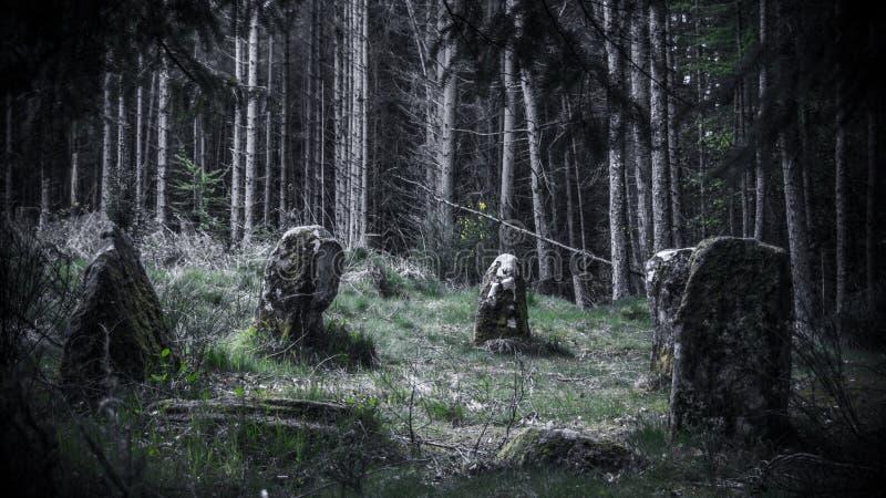 αρχαία πέτρα κύκλων στοκ εικόνες