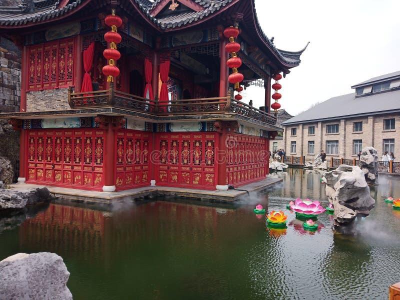 Αρχαία πόλη στην Κίνα στοκ εικόνα με δικαίωμα ελεύθερης χρήσης