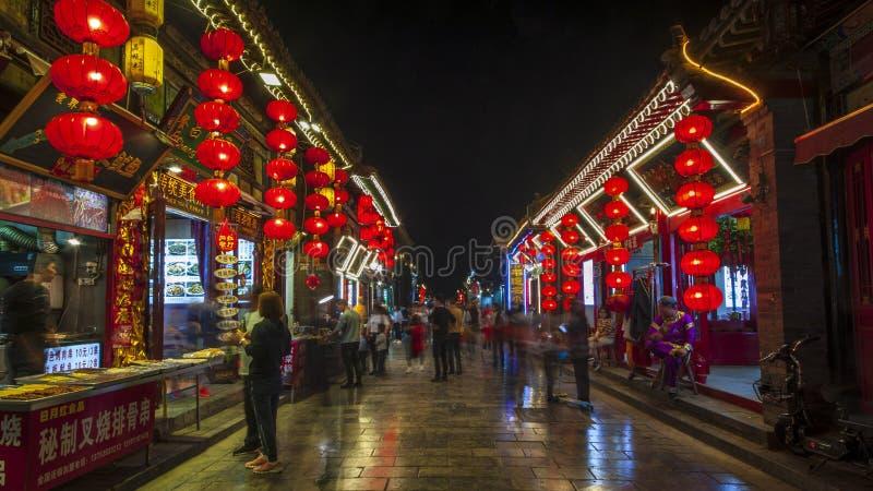 Αρχαία πόλη Pingyao στοκ εικόνα