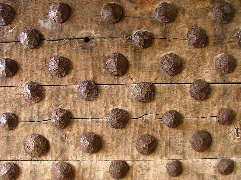 αρχαία πόρτα ξύλινη στοκ φωτογραφία με δικαίωμα ελεύθερης χρήσης