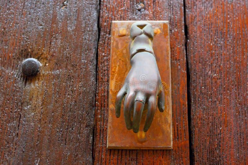 Αρχαία πόρτα Сlosed στοκ εικόνα με δικαίωμα ελεύθερης χρήσης