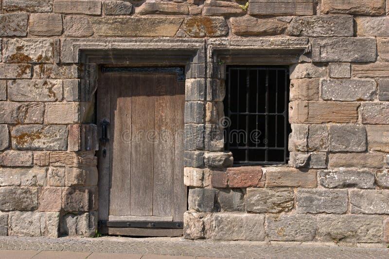 αρχαία πόρτα andwwindow στοκ εικόνες με δικαίωμα ελεύθερης χρήσης