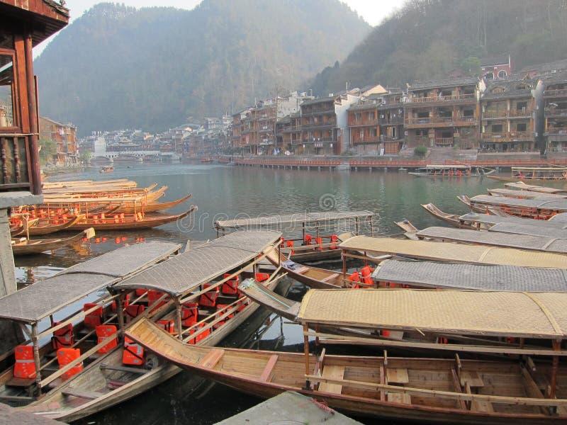 Αρχαία πόλη Fenghuang στοκ εικόνα